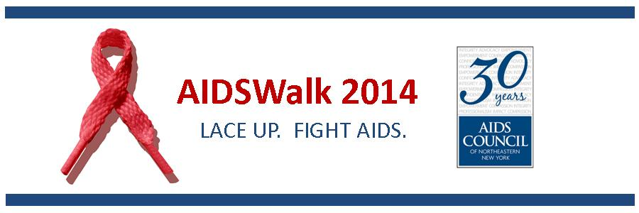 Lace Up. Fight AIDS. Donate to the AIDS Council's 2014 AIDSWalk team!